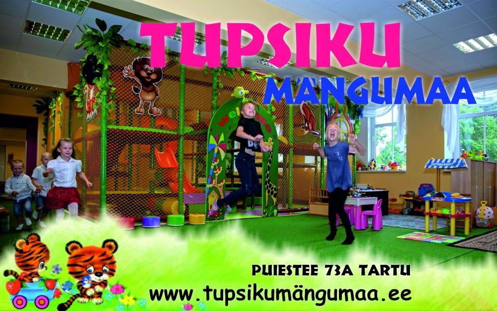 Lõunaring loosib reedel välja 3-tunnise sünnipäevapeo Tupsiku mängumaal!
