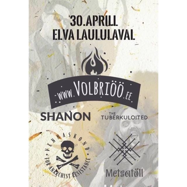 Soovisaade loosib peopääsmeid 30.aprillil toimuvale Volbriöö.ee koguperefestivalile!
