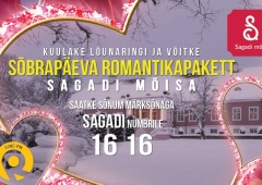 Lõunaring jagab romantikat Sagadi Mõisasse!