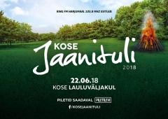 Soovisaade loosib vinge auhinnakomplekti Kose Jaanitulele!