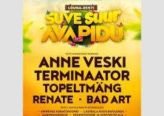 Ring FM esitleb: Lõuna-Eesti Suve Avapidu 2019!