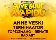 JMV Motors , Värska Originaal ja Ring FM esitlevad: Lõuna-Eesti Suve Avapidu 2019!