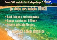 Ring FM saadab ühe kuulaja koos kaaslasega Türki!