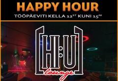 Ring FM saates Happy Hour on loosis HI:U LOUNGE meelelahutuspakett!