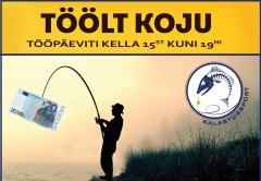 Töölt Koju teeb sellel töönädalal koostööd Sport Fishing Estonia OÜ'ga.