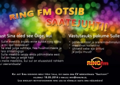 Ring FM otsib SAATEJUHTI!